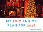 My 2017 and My Plan For 2018